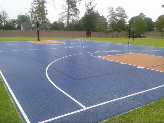Backyard Basketball Court 2