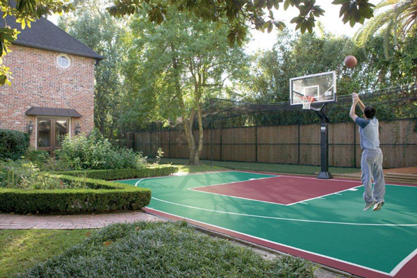 Backyard Basketball Court 3