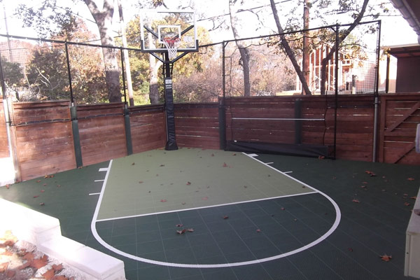 Backyard Basketball Court 5