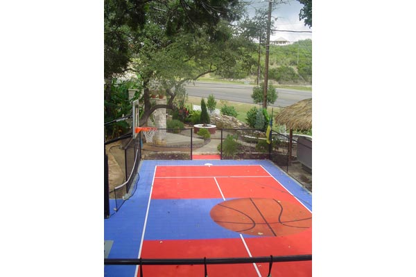 Backyard Basketball Court 6