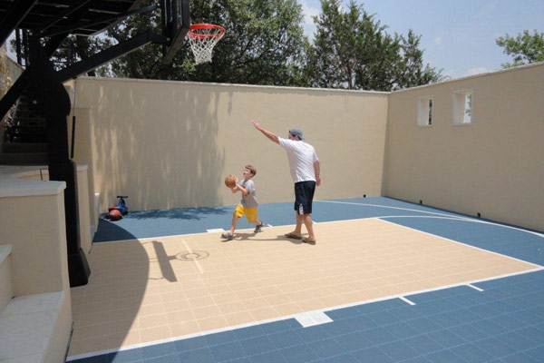 Backyard Basketball Court 7