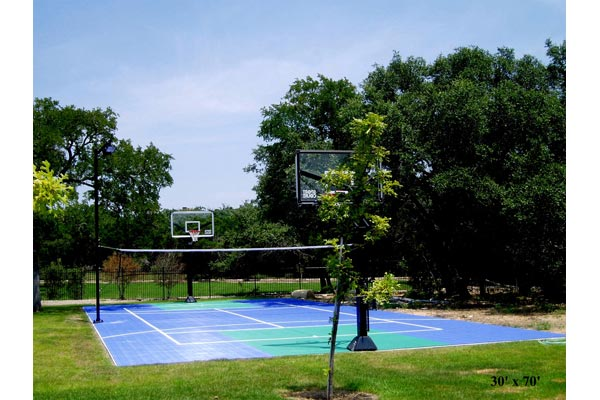 Backyard Basketball Court 8