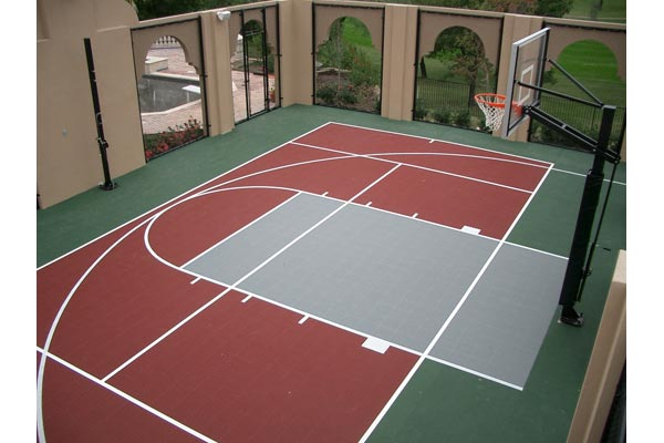 Basketball courts gallery sport court houston for Price of indoor basketball court
