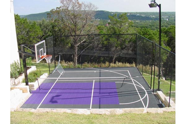Backyard Basketball Court 10