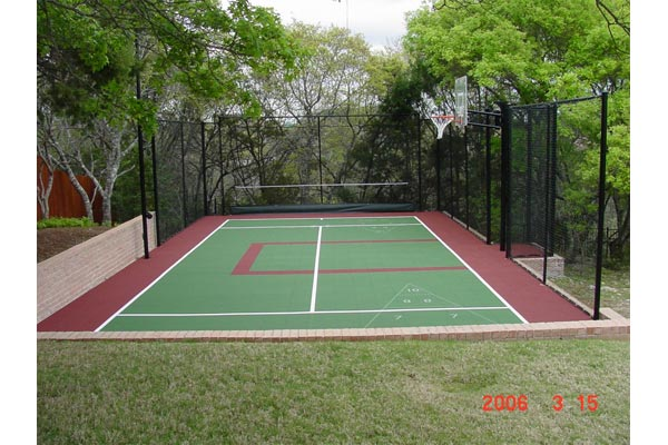 Backyard Basketball Court 11