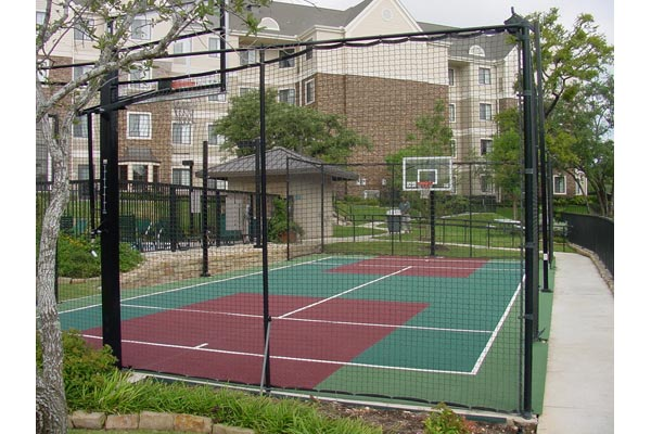 Backyard Basketball Court 12