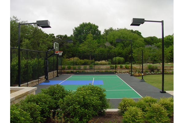 Backyard Basketball Court 13