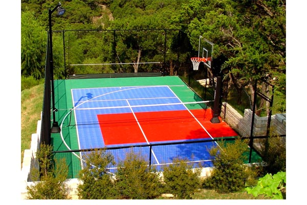 Backyard Basketball Court 14