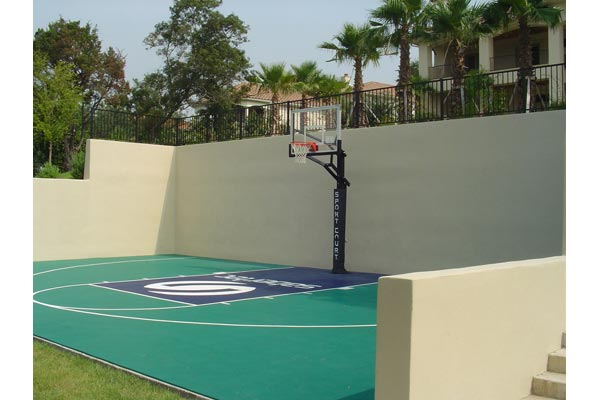 Backyard Basketball Court 17