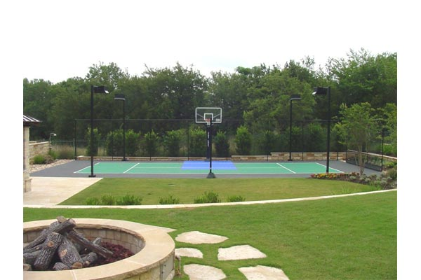 Backyard Basketball Court 18
