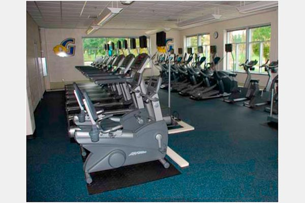 Fitness and Weight Room Floors