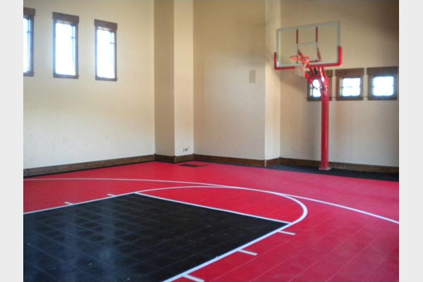 Home gym installations gallery sport court houston for Basketball court cost estimate