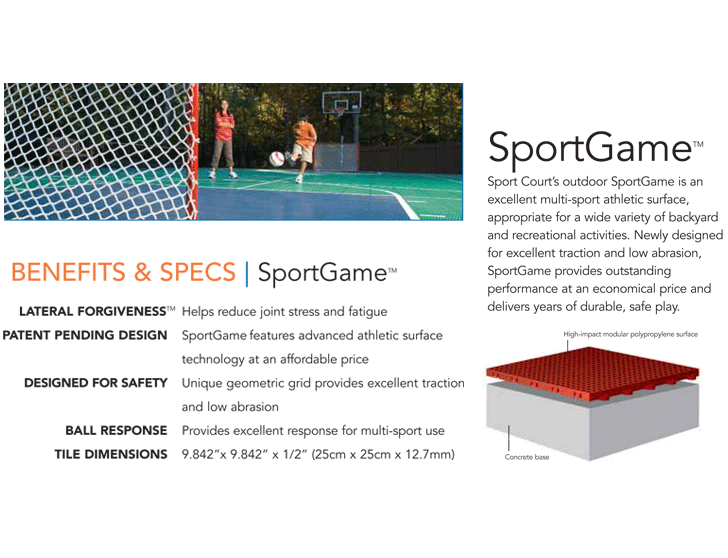 SportGame Athletic Surfaces